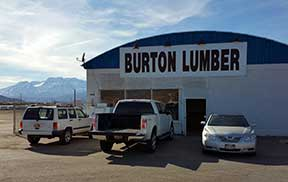 Burton Lumber Heber City Utah Temporary Location