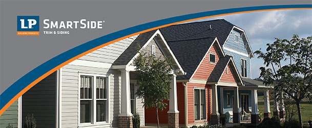 LP Smartside House Trim and Siding