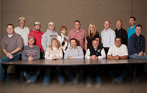 Burton Lumber Northern Truss Plant Team