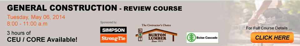 General Construction Review Course