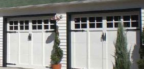 Woodcraft Garage Doors - Carriage House Style