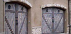 Woodcraft Garage Doors - Rustic Style
