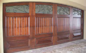 Woodcraft Custom X-treme Custom Wood Garage Doors