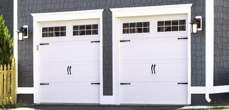 Fiberglass garage doors that look like wood
