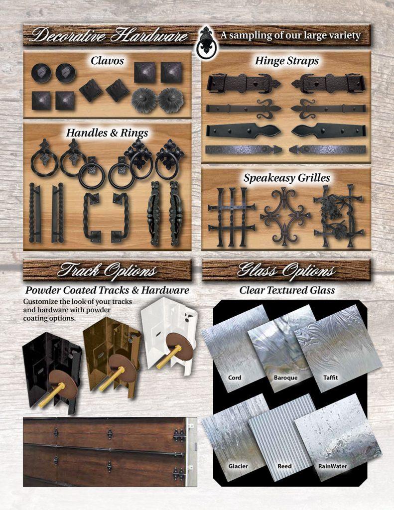 Garage Doors Decorative Hardware