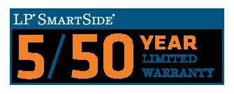 LP Smartside 5/50 Year Limited Warranty